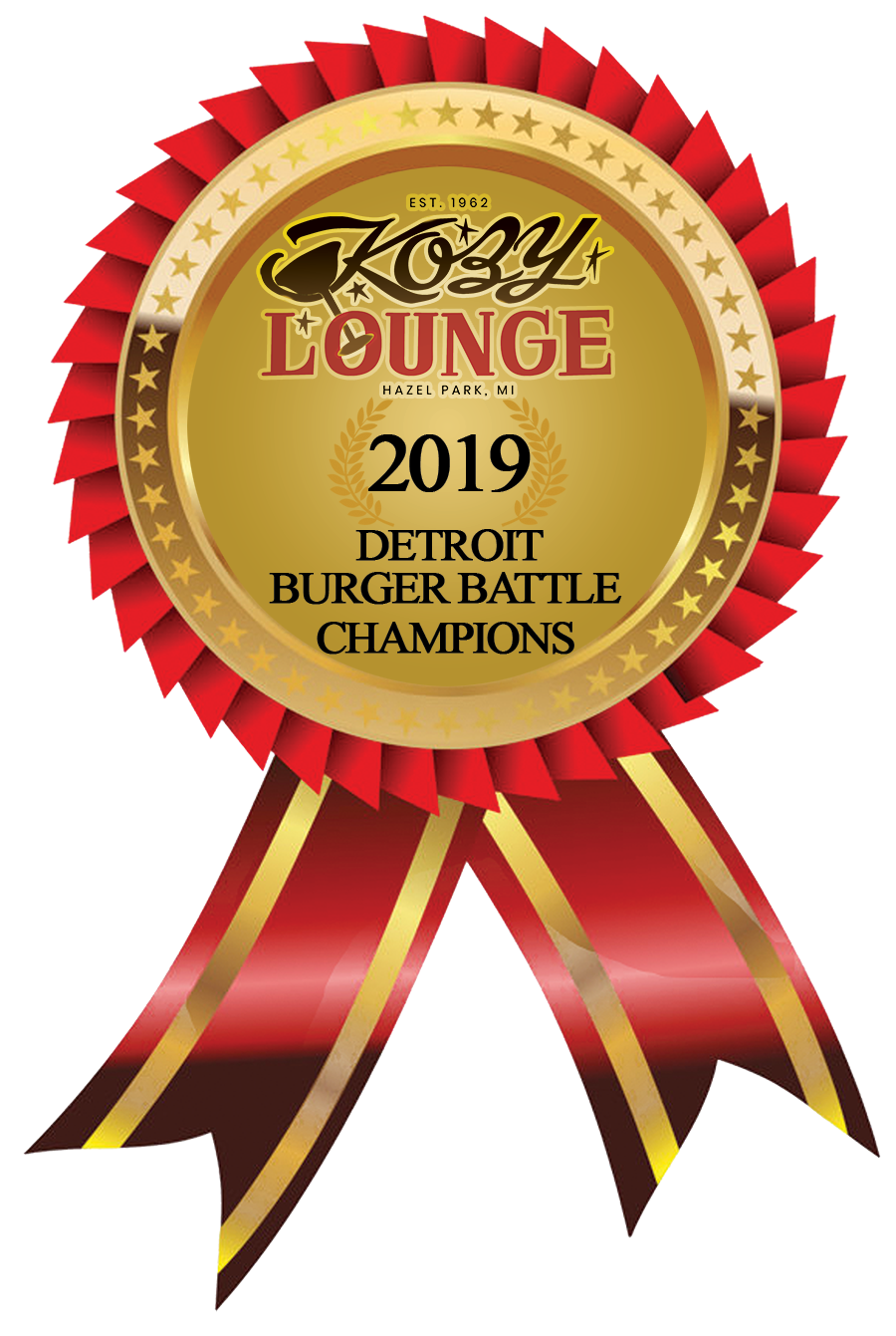 2019 Detroit Burger Battle Champion
